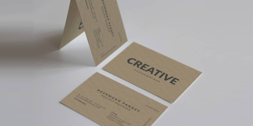 100 free business cards psd the best of free business cards minimal classic business card psd reheart Images