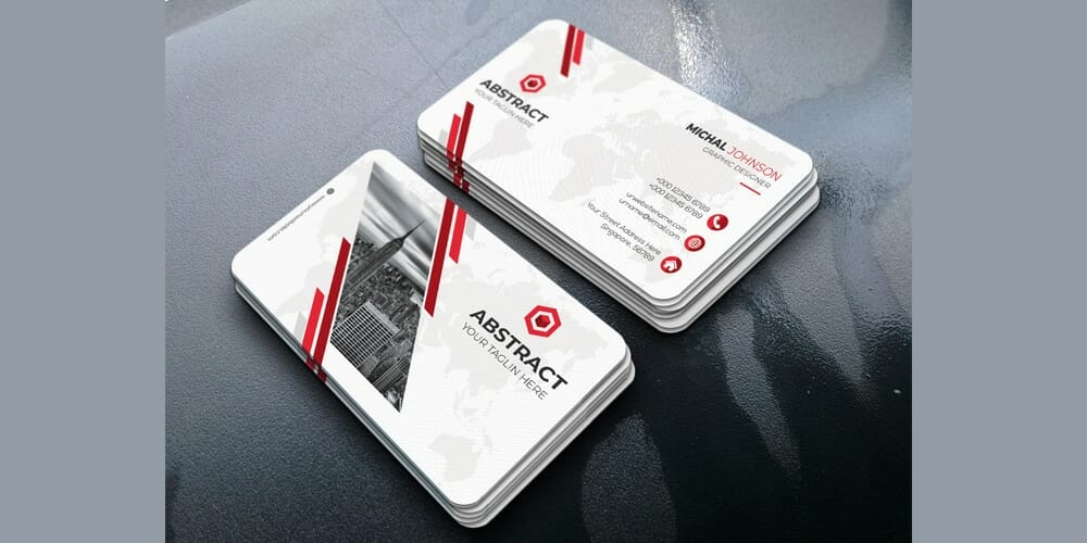 100 free business cards psd the best of free business cards modern business card design psd friedricerecipe Gallery