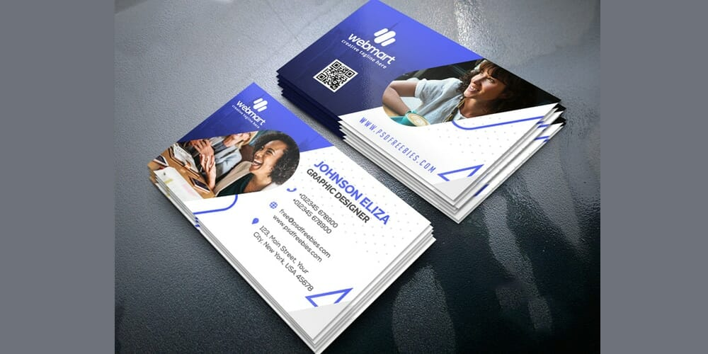 100 free business cards psd the best of free business cards modern business card design templates psd flashek Images
