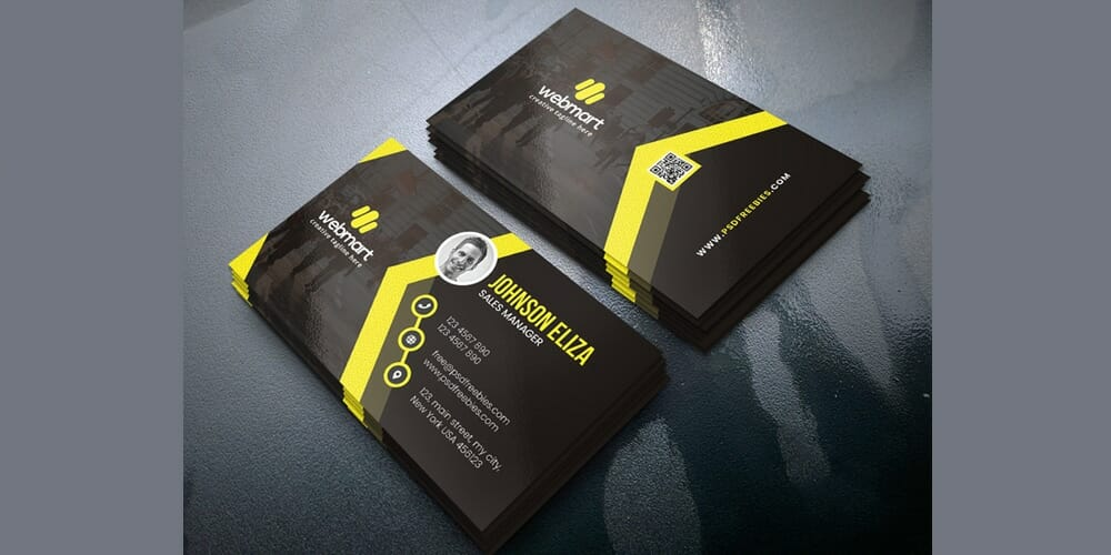 100 free business cards psd the best of free business cards modern business cards design templates psd wajeb Choice Image