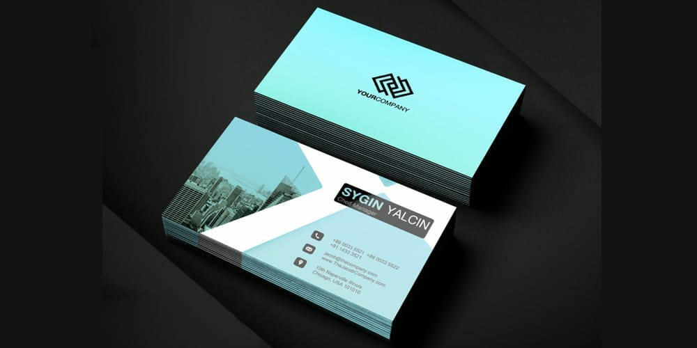 100 free business cards psd the best of free business cards office business card template psd flashek Gallery