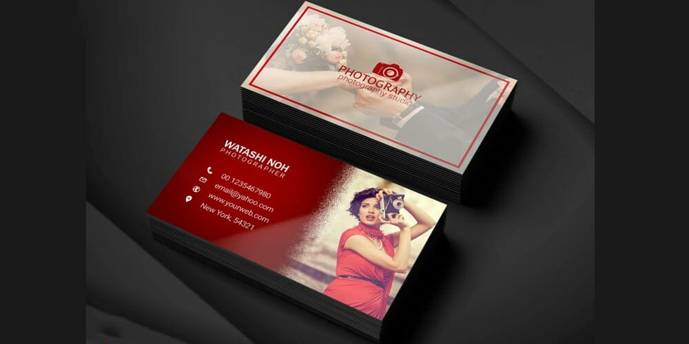 100 free business cards psd the best of free business cards photographer business card template psd flashek Choice Image