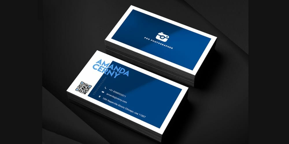 100 free business cards psd the best of free business cards photographer business card template psd flashek Gallery