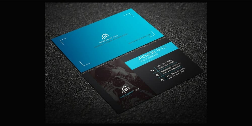 100 free business cards psd the best of free business cards photography business card template psd fbccfo Gallery