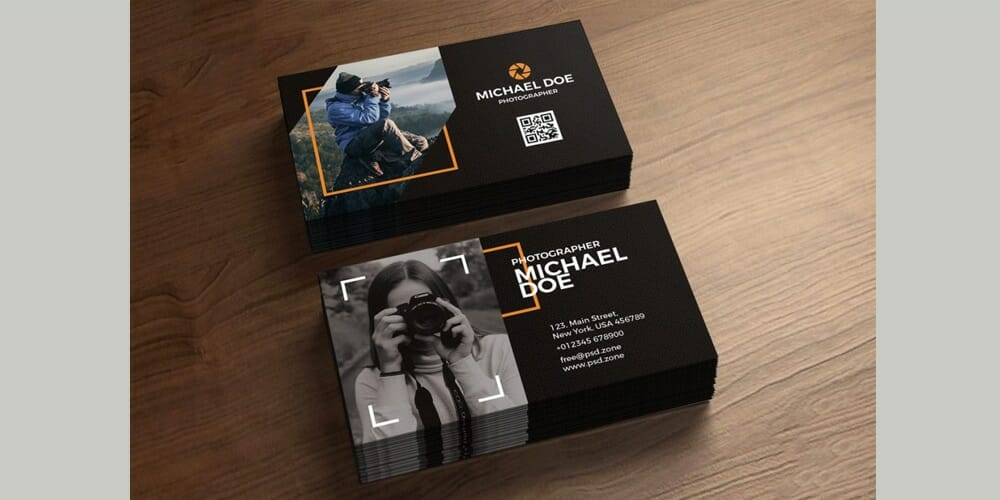 100 free business cards psd the best of free business cards photography business cards template psd flashek Images
