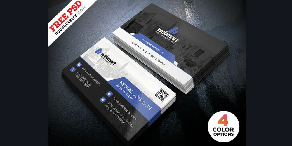 Photoshop Templates Business cards