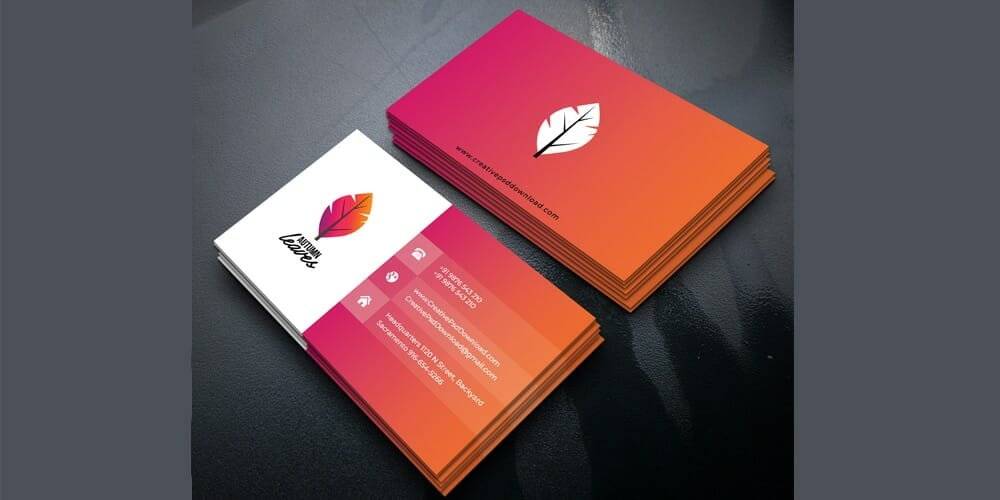 100 free business cards psd the best of free business cards professional business card template psd reheart Choice Image