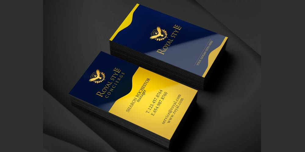 Royal Style Business Card PSD