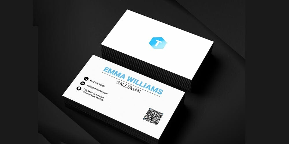 100 free business cards psd the best of free business cards salesman business card template psd accmission Images