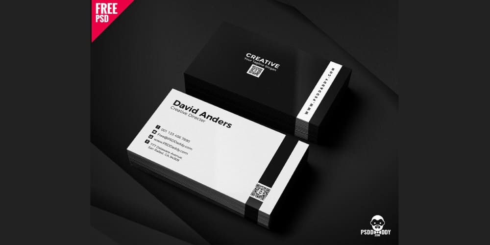 Simple Business Cards PSD