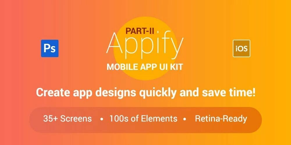 Appify Free Mobile App UI Kit