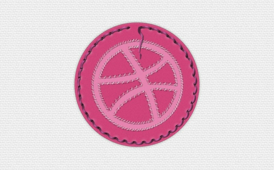 Dribbble Badge