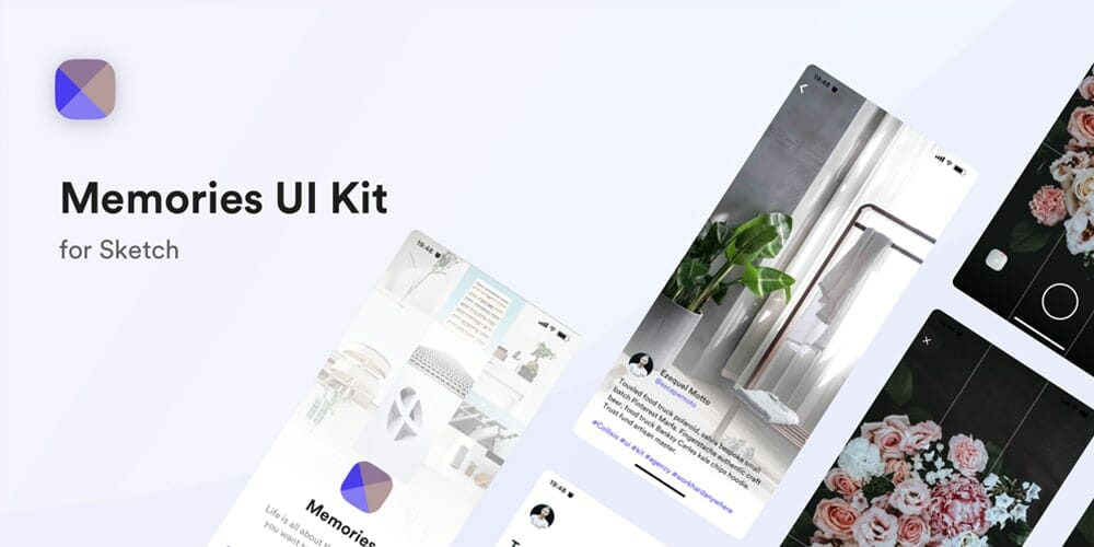 Memories UI Kit
