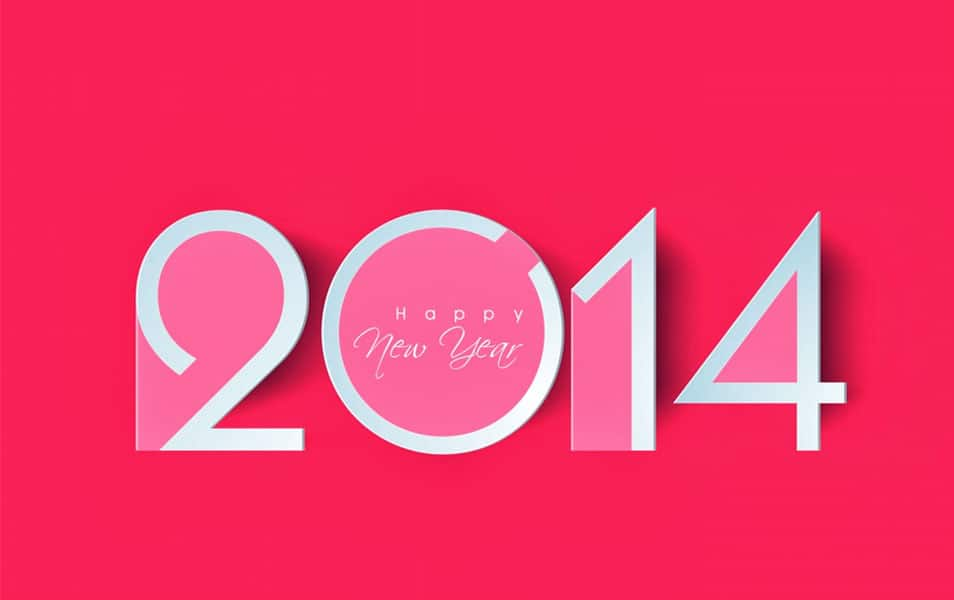 New year wallpapers 2014
