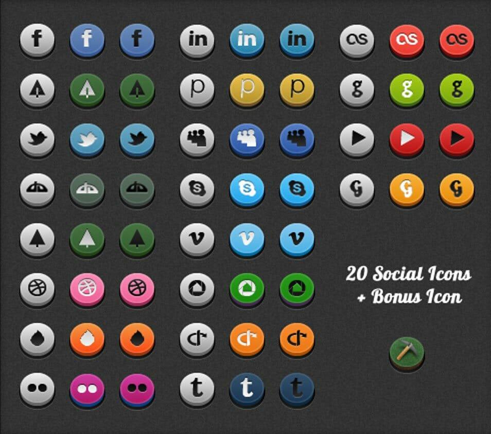 Twitter Deviantart Dribbble Ember Flickr Gowalla Lastfm Linkedin Posterous Myspace Skype Vimeo Picasa Open ID Tumblr Youtube Github