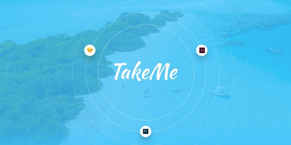 Take Me UI Kit