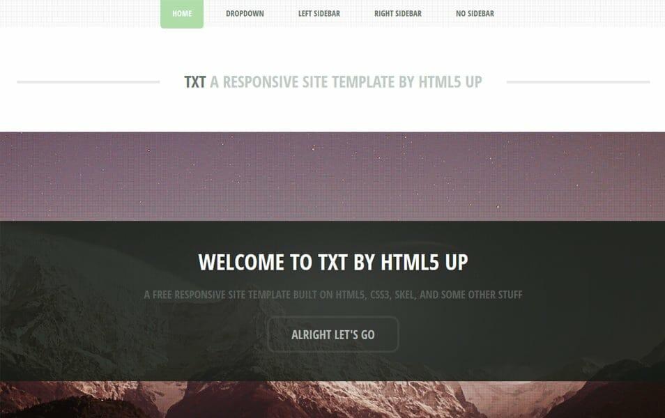 500 best free responsive html5 css3 website templates live demo download maxwellsz