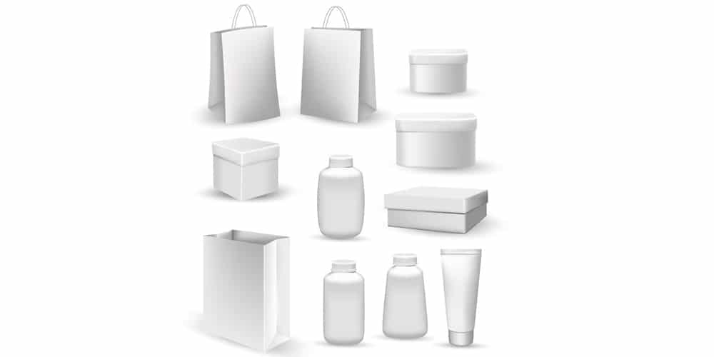 Collection of Bags and Containers