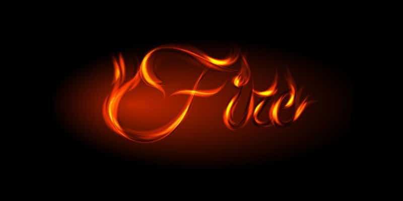 Create a Fire Text Effect in Adobe Illustrator