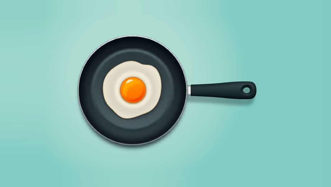 Create a Frying Pan in Adobe Illustrator