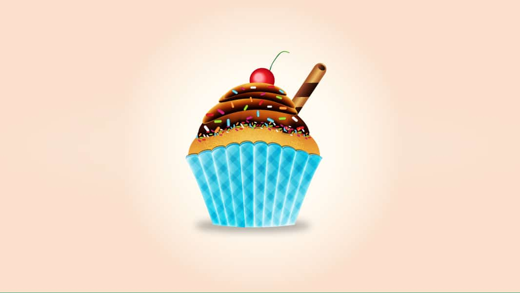 Create a Tasty Cupcake in Adobe Illustrator