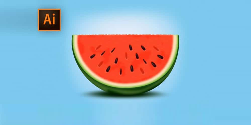 Create a Tasty Watermelon Slice
