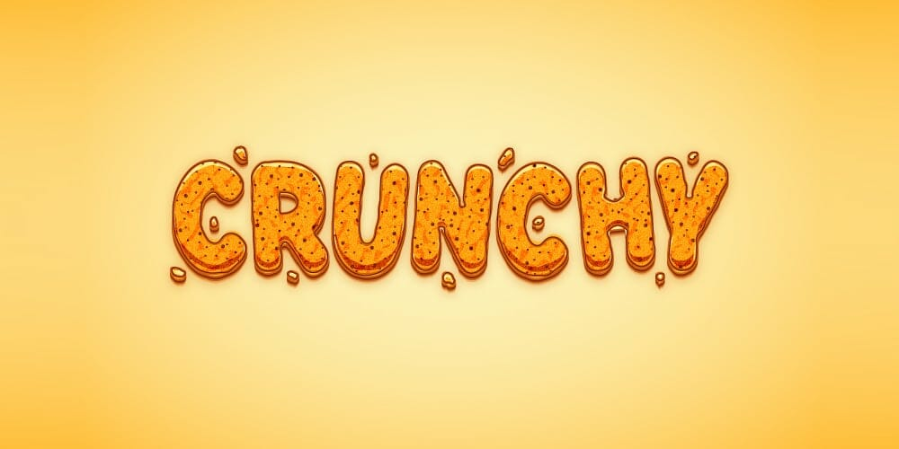 Crunchy Cartoon Text Effect