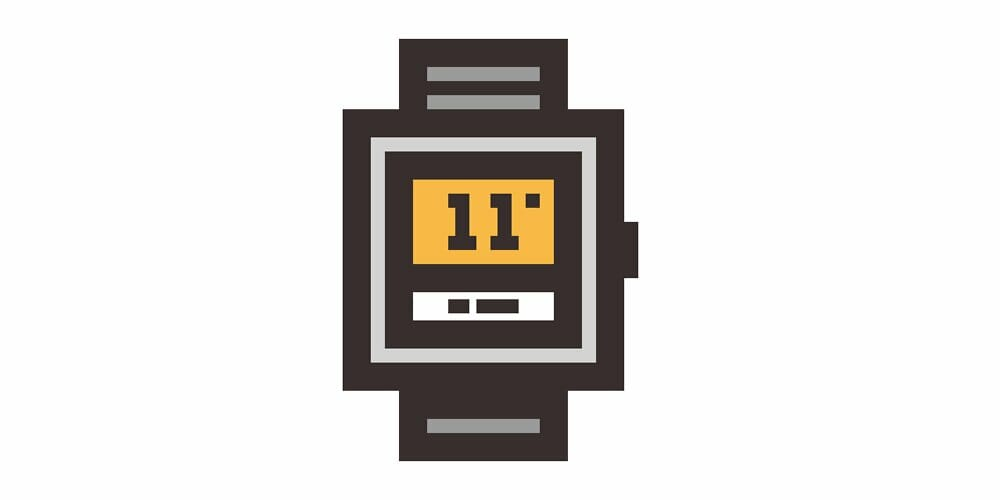 Fitness Tracking Smartwatch Icon