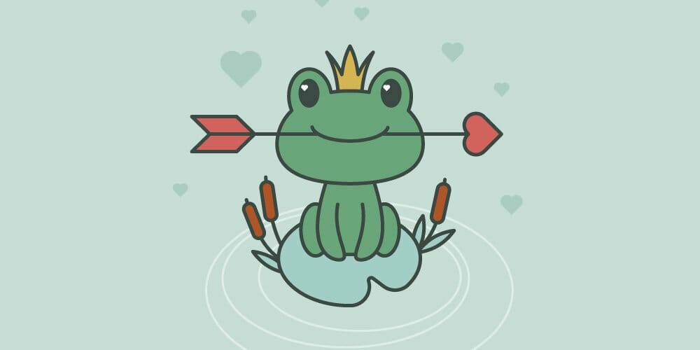 Frog Princess Illustration