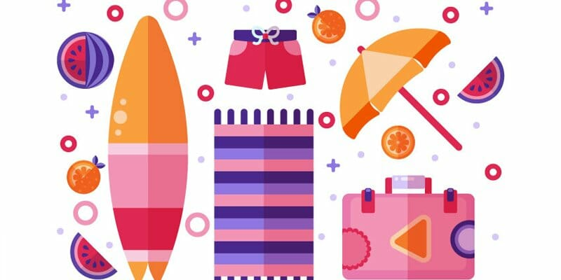 How to Create a Flat Design Summer Illustration in Adobe Illustrator