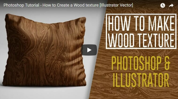 How to Create a Wood texture in Illustrator