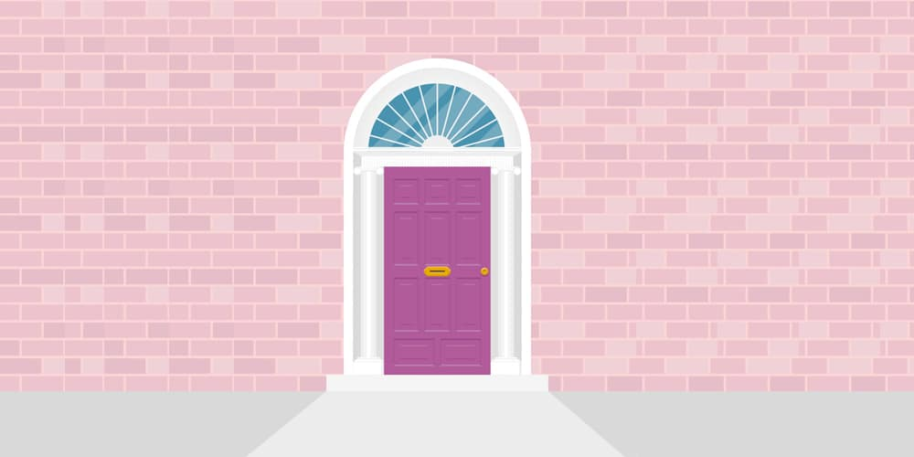 Irish-Door-Illustration