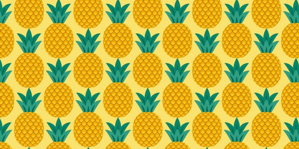 Create a Pineapple Seamless Pattern in Adobe Illustrator