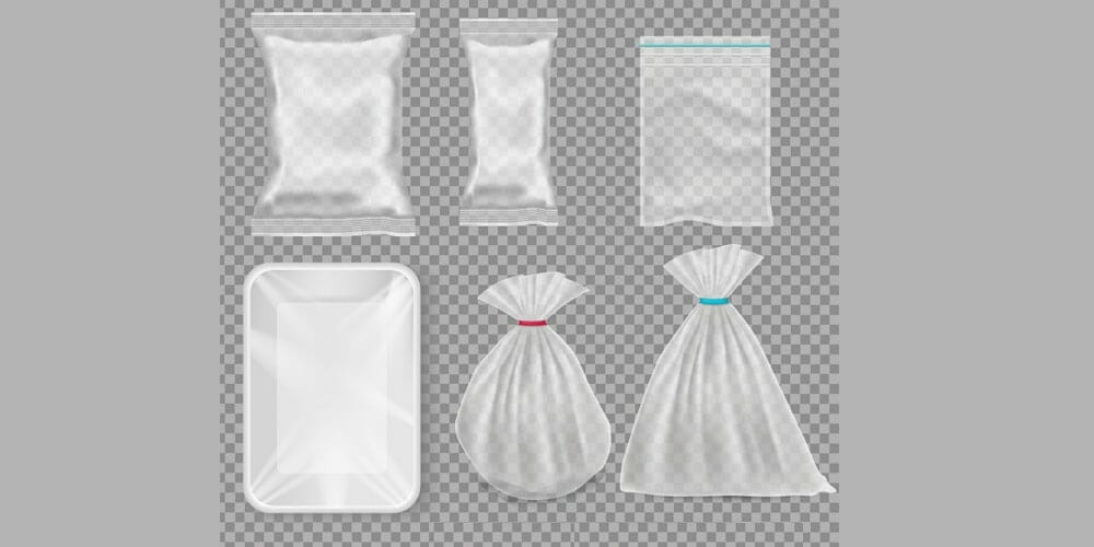 Draw a Set of Various Polypropylene and Plastic Packages in Adobe Illustrator