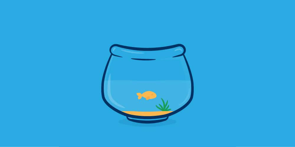 Simple Fishbowl Illustration