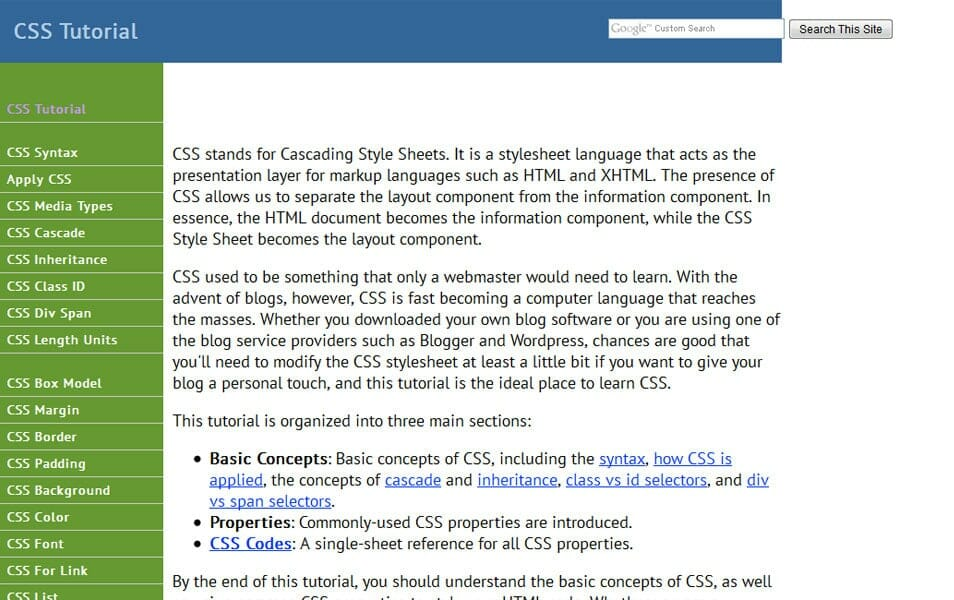 Ultimate css resources css tools frameworksebooks 1keydata fandeluxe Images