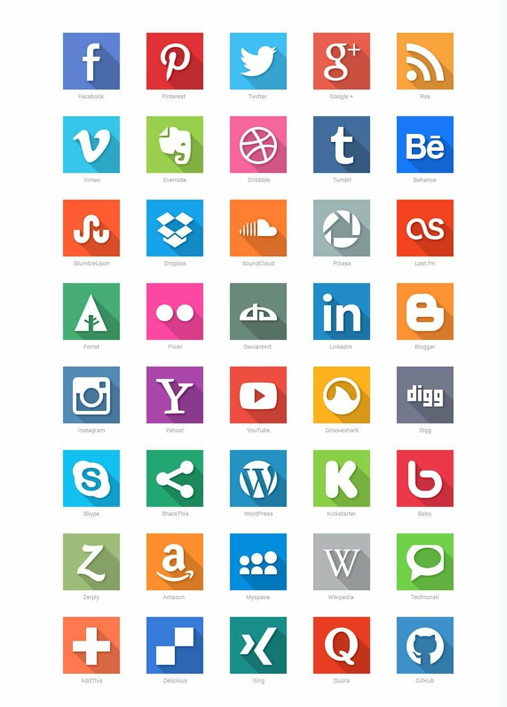 180 free flat icon sets css author