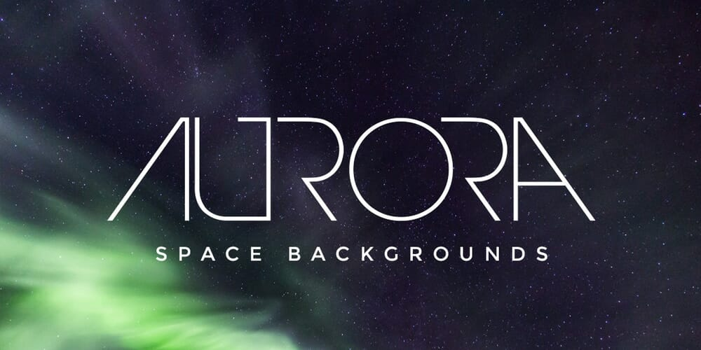 Free Aurora Space Backgrounds