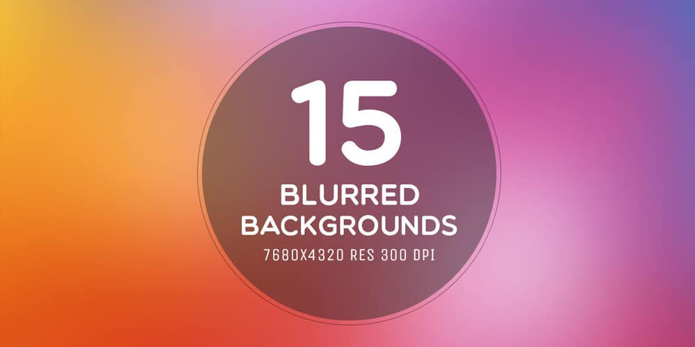 Free Blurred 8K Backgrounds