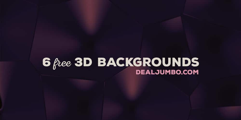 Free Creative 3D Backgrounds