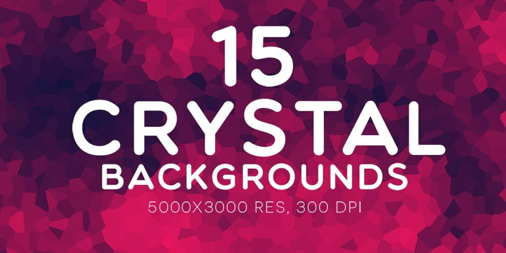 Free Crystal Backgrounds