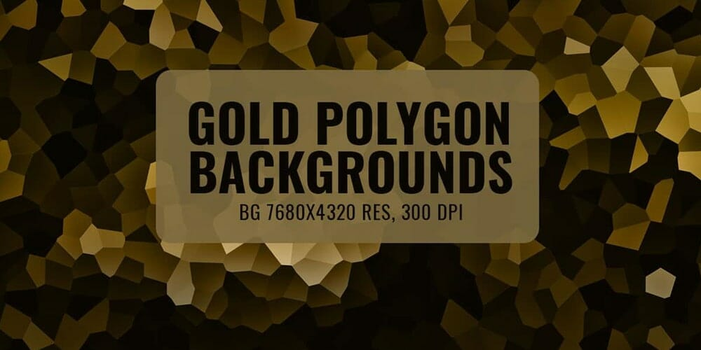 Free Gold Polygon Backgrounds