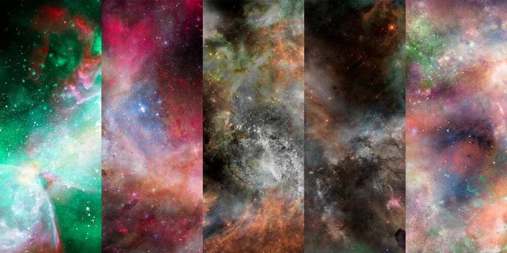 Free Nebula Space Backgrounds