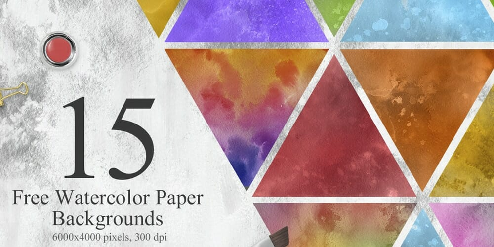 Free Watercolor Paper Backgrounds