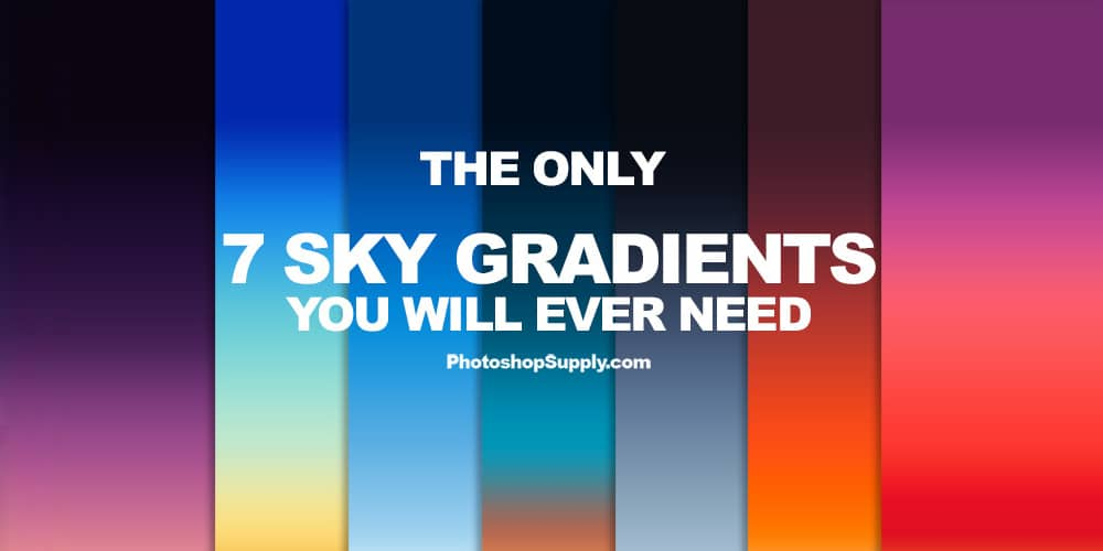 Sky Gradients For Photoshop