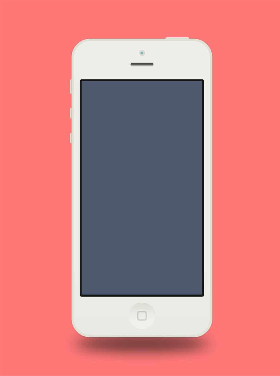 Best collection of iphone mockup templates css author flat iphone 5 adobe fireworks template maxwellsz