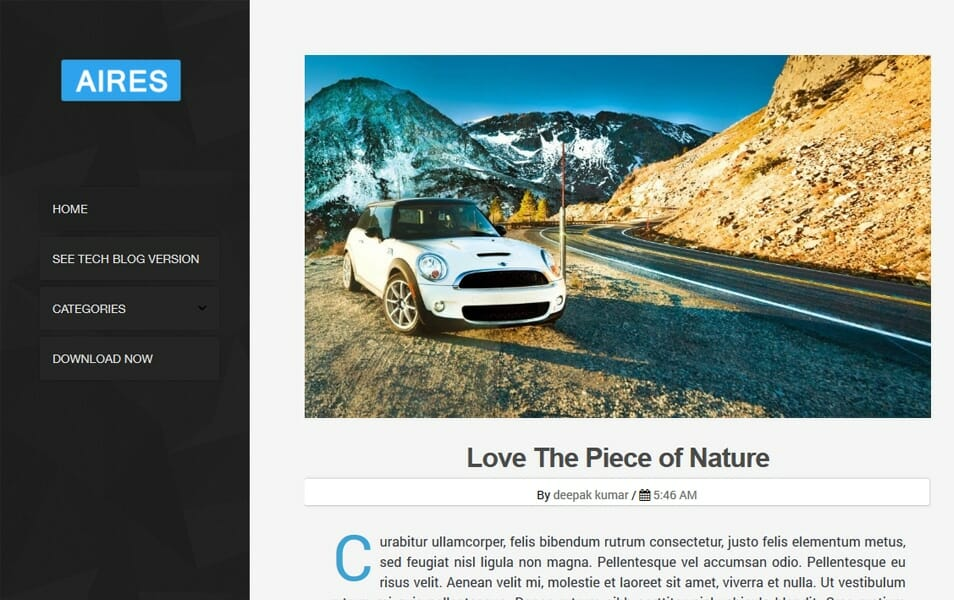 200+ Best Free Responsive Blogger Templates