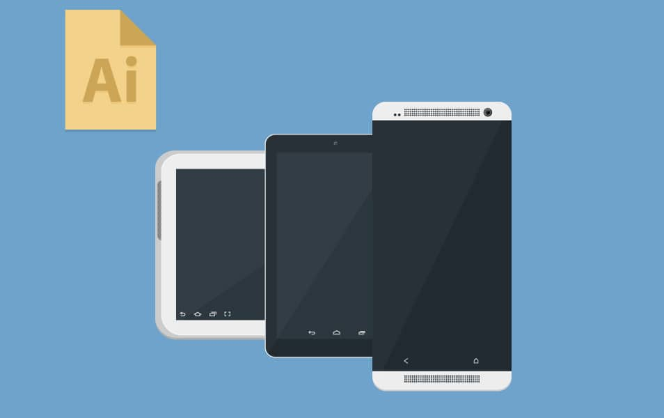 Android Devices Mockup