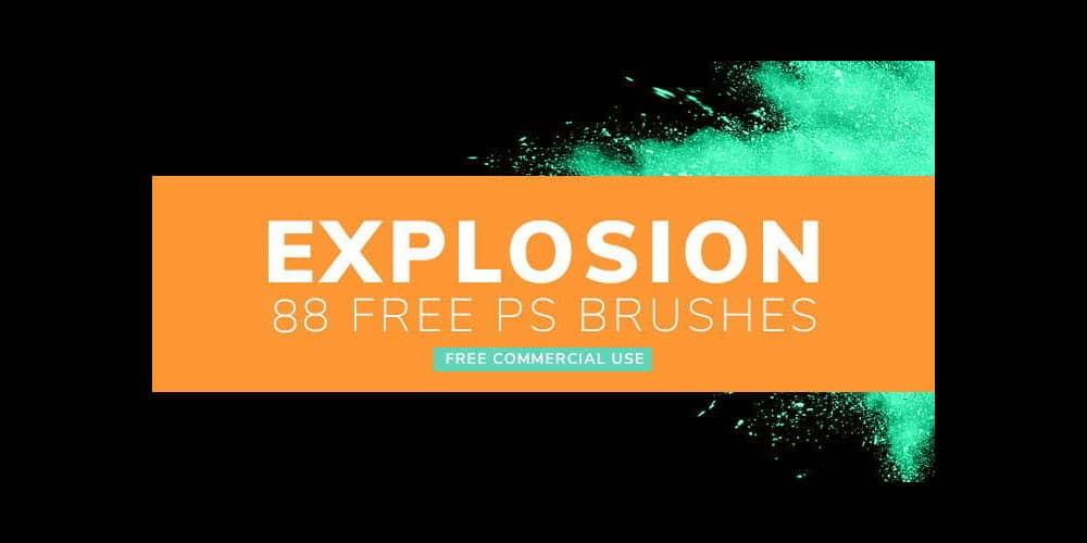 Explosion Brushes for Photoshop