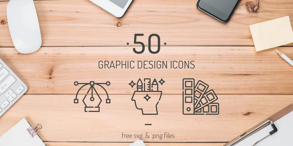 Free Graphic Design Icons